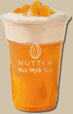 Mango Fruit Tea W/ Nut Cream