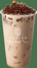 Nut Mylk Tea W/ Brown Sugar Jelly